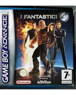 Videogioco NINTENDO GAME BOY ADVANCE:I FANTASTICI 4 BOX libretto