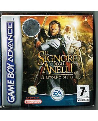 Videogioco NINTENDO GAME BOY ADVANCE:Signore Anelli ritorno del RE BOX libretto