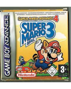 Videogioco NINTENDO GAME BOY ADVANCE:SUPER MARIO 3  BOX libretto