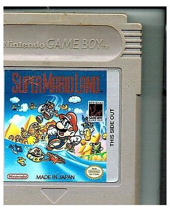 Videogioco NINTENDO GAME BOY:SUPER MARIO LAND no BOX no libretto