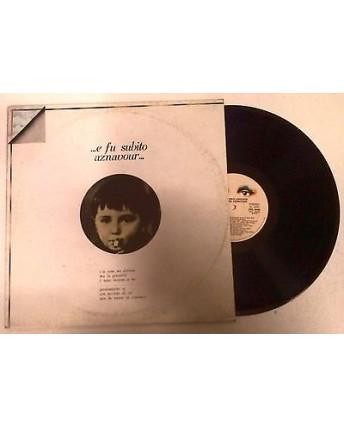 33 Giri  Aznavour: ... e fu subito aznavour... - 8440 -  Ricordi - 048