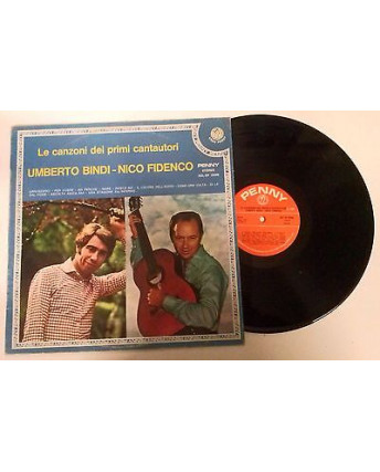 33 Giri  Bindi-Fidenco: Le canzoni dei primi cantautori -ST19409 - Rifi  - 095