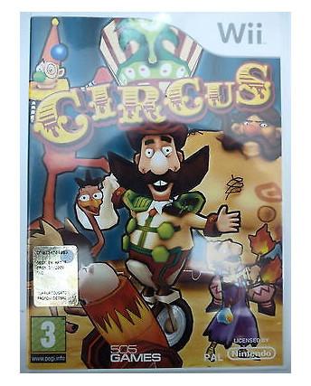 VIDEOGIOCO PER NINTENDO WII : CIRCUS - 505 GAMES 3+