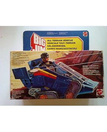 Big Jim Carro Mangiaostacoli - Giocattolo Vintage Mattel Anni '80 * CON SCATOLA