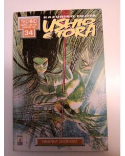 """Ushio e Tora n. 2 """"Hinowa Sekimori"""" di Kazuhiro Fujita Ed. Star Comics"""