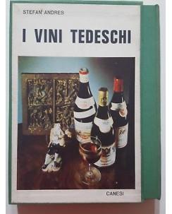 Stefan Andres: I Vini Tedeschi ed. Canesi con COFANETTO A44