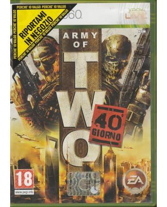 Videogioco per XBOX 360: Army of TWO - 18+