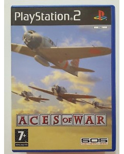 Videogioco per Playstation 2: ACES OF WAR - 7+ NO LIBRETTO