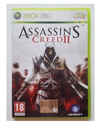 Videogioco per XBOX 360: ASSASSIN'S CREED II 18+