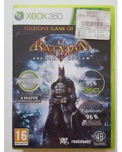 Videogioco per XBOX 360: BATMAN ARKHAM ASYLUM - 16+