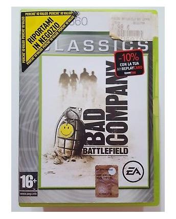 Videogioco per XBOX 360: BATTLEFIELD BAD COMPANY - 16+
