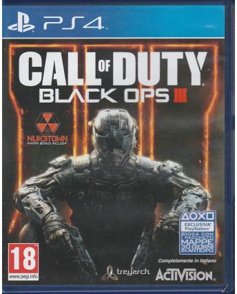 Videogioco per Playstation 4: Call of Duty Black Ops III - 18+
