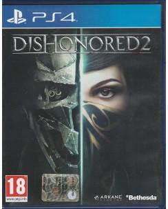 Videogioco per Playstation 4: Dishonored 2 - 18+