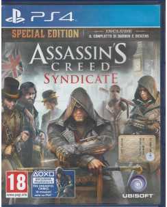 Videogioco per Playstation 4: Assasin's Creed Syndicate - 18+