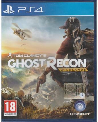 Videogioco per Playstation 4: Ghost Recon Wildlands - 18+