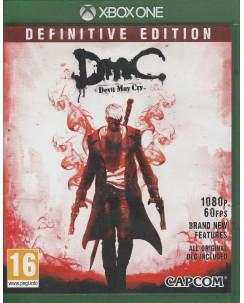 Videogioco per Playstation XBOX One: Devil May Cry (no libretto) - 16+