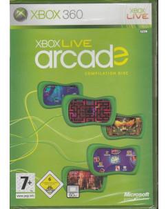 Videogioco per Playstation XBOX 360: Xbox live Arcade (blisterato) - 7+