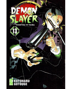 Demon Slayer 13 Kimetsu no Yaiba di K.Gotouge ed.Star Comics NUOVO