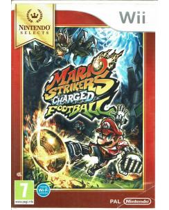Videogioco Mario Strikers Charged Football Wii PAL ITA no libretto