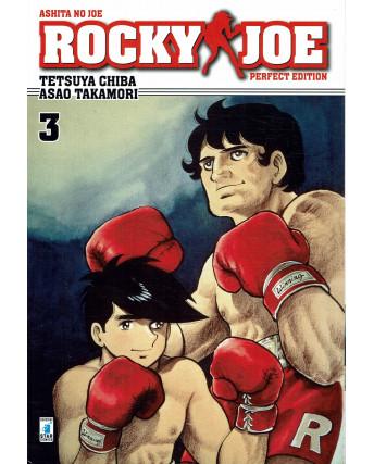 Rocky Joe Perfect Edition  3 di Chiba e Takamori ed. Star Comics NUOVO