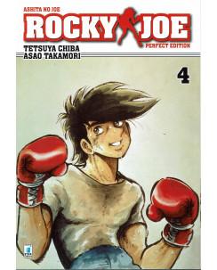 Rocky Joe Perfect Edition  4 di Chiba e Takamori ed. Star Comics NUOVO