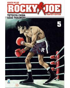 Rocky Joe Perfect Edition  5 di Chiba e Takamori ed. Star Comics NUOVO