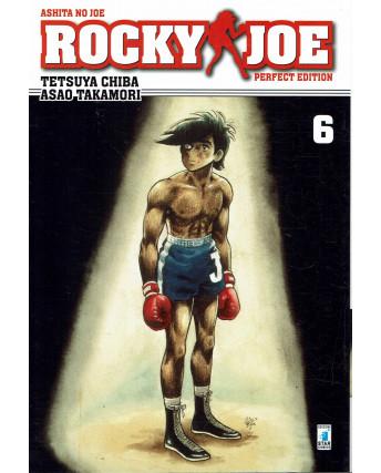 Rocky Joe Perfect Edition  6 di Chiba e Takamori ed. Star Comics NUOVO
