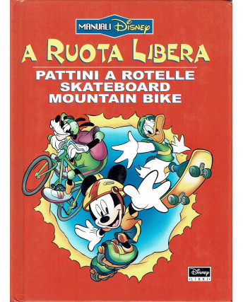 A ruota libera pattini a rotelle skateboard manuali Disney ed. Disney