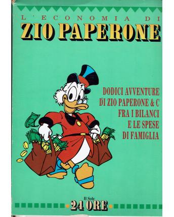 L'economia di Zio Paperone 12 avventure ed. il Sole 24 ore FU22