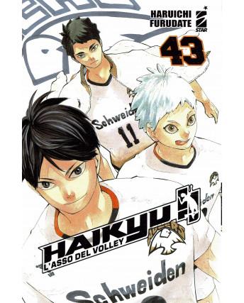 Haikyu L'Asso del Volley n.43 di Haruichi Furudate ed. Star Comics NUOVO
