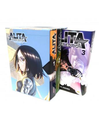 Alita Panzer Edition 1/3 COFANETTO serie COMPLETA di Kishiro ed. Panini
