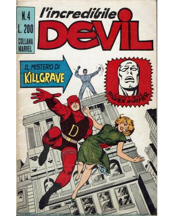 L'Incredibile Devil n.  4 il mistero di Killgrave ed. Corno