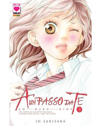 A un passo da te n. 3 di Sakisaka Ao Haru Ride ristampa ed.Panini