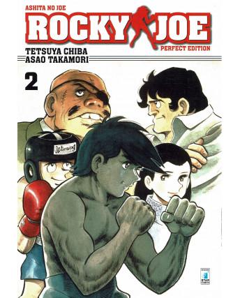 Rocky Joe Perfect Edition  2 di Chiba e Takamori ed. Star Comics NUOVO