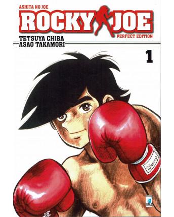 Rocky Joe Perfect Edition  1 di Chiba e Takamori ed. Star Comics NUOVO