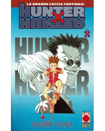 Hunter x Hunter n. 2 di Yoshihiro Togashi Ristampa NUOVO ed. Panini