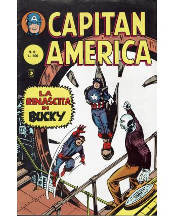 Capitan America  8 II serie la rinascita di Bucky ed. Corno