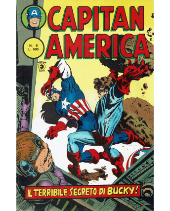 Capitan America  9 II serie il terribile segreto di Bucky ed. Corno