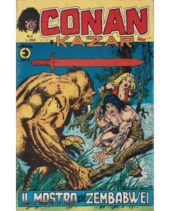 Conan e Kazar n. 2 il mostro di Zembabwei ed. Corno