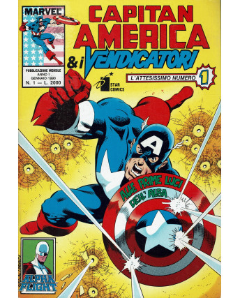 Capitan America e I Vendicatori N. 1 ed. Star Comics