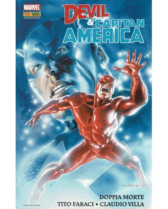 Comics Usa n.18 Devil e Capitan America di Faraci e Villa ed. Panini