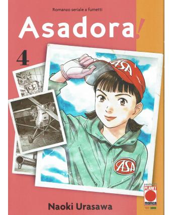 Asadora! Asadora !  4 di Naoki Urasawa ed. Panini
