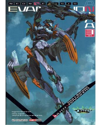 Neon Genesis Evangelion ANIMA n. 3 Romanzo di Yamashita ed. Panini