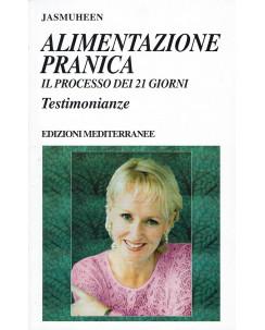 Jasmuheen: Alimentazione Pranica 21 giorni testimonianze ed. Mediterranee A02