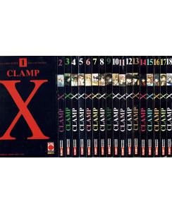 X Clamp 1/18 serie COMPLETA Clamp ed. Panini