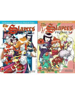 The Slayers Premium 1/2 serie COMPLETA di Kanzaka ed. Panini