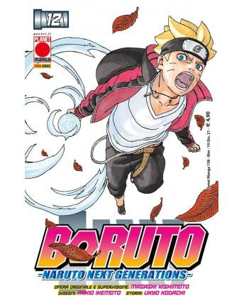 Boruto Naruto Next generation 12 di Masashi Kishimoto NUOVO ed. PANINI